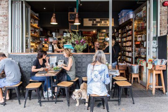 Gertrude & Alice Bookstore Cafe Bondi Beach