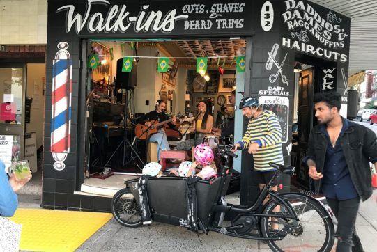 Badlambs Barbershop shopfront
